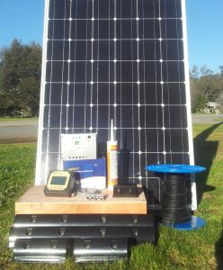 Solar Kit for Caravans/Rvs/Boats/1000W 2000W 3000W PV Solar Panel/1kVA 2kVA 3kVA 4kVA 5kVA Solar Inverter/Charger