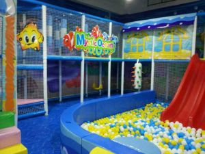 Mantong New Design Cheap Soft Kids Playground Indoor Playground for Kids Inflatable Acrade Machine pictures & photos