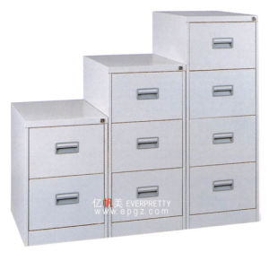 Modern School Office 4 Drawer Steel Drawer Cabinet for Files pictures & photos