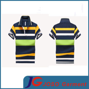 Leisure Striped Polo Shirt for Men (JS9031m) pictures & photos
