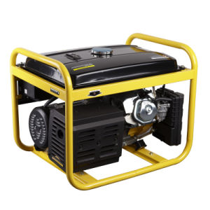 100% Copper Electric Start 5kw 6kw 7kw Portable Gasoline/Petrol Power Generator pictures & photos