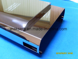 OEM Curve Bended Stainless Panel Mirror Finish pictures & photos