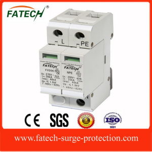 CE 40ka 1p+N surge protection device pictures & photos