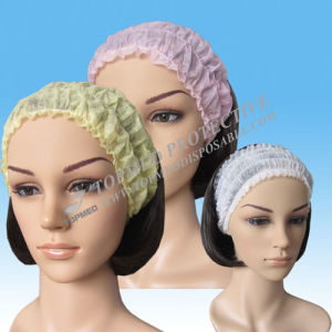 Colorful Disposable SBPP Lux Hair Band, Non-Woven Head Band for Beauty Salon pictures & photos