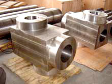 WB36(T36/P36, 15NiCuMoNb5-6-4, 1.6368) Forged/Forging Alloy Steel Valve Body Bodies Shells Blocks Casings pictures & photos