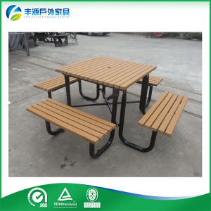 China Powder Coated Outdoor Park Detachable Picnic Table