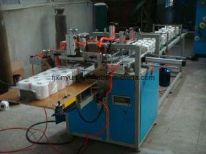 Semi-Automatic Toilet Paper Packing Machine for Multiple Rolls pictures & photos