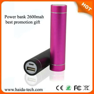 Hot Promotion Gift 2600mAh Power Bank with CE FCC RoHS