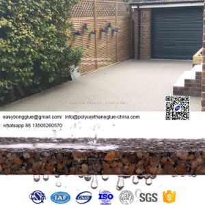 Resin Bound Driveway Gravel Aggregates for UV Stable Resistance Permeable  Driveway Walkway