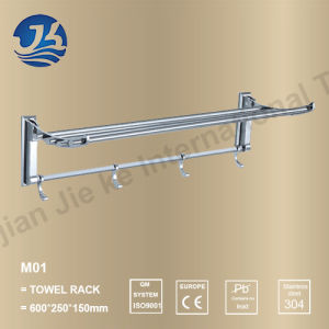 High Quality Stainless Steel Bathroom Accessories Towel Rack (M01)
