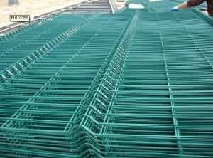 China Low Price 2x2 Pvc Welded Wire Mesh Fence Panels In 6 Gauge