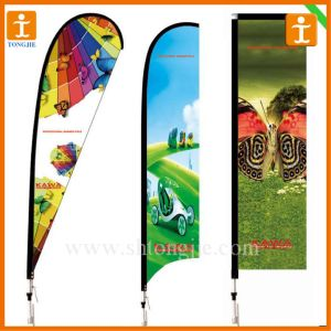 Advertising Banner Teardrop Bow Flag (TJ-39) pictures & photos