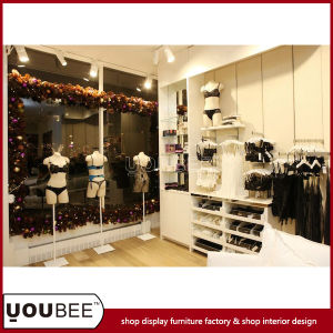 caff87359d6 China Ladies′ Lingerie Display Racks for Underwear Store Interior Design - China  Lingerie Shop Design