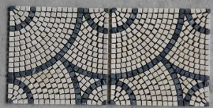 Round Pattern Marble Stone Mosaic Floor Tile (HSM217) pictures & photos