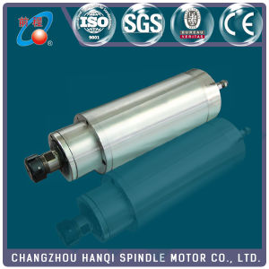 85mm-2.2kw-220V/380V Four Bearings Permanent Torque Water Cooling Spindle Motor Gdk85-24z/2.2-Bj pictures & photos