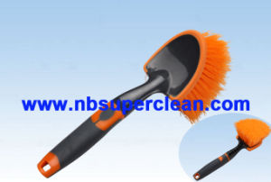 2016 New Design Car Wheel Cleaning Brush (CN1879) pictures & photos