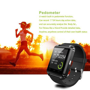 U8 Watch Bluetooth 230mAh Battery Sport Smart Watch for Phone