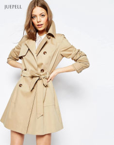 Oversized Winter Women Coat with Doulbe Collar pictures & photos