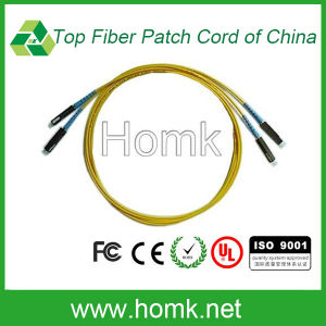 Mu Singlemode Duplex Fiber Optic Patch Cord