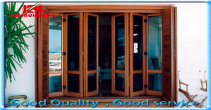 Modern Design Folding Wood Panel Door Design
