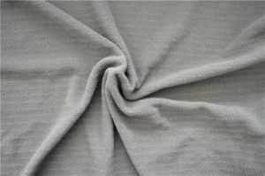 Fleece Fabric with Silver Coated Nylon Yarn for Army Uniform