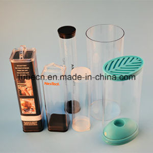 Transparent Cosmetic Packaging Tube