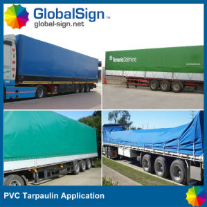 Open Top Container PVC Coated Tarpaulin pictures & photos