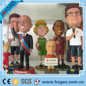 Resin Bobble Head Different People for Table Decoration pictures & photos