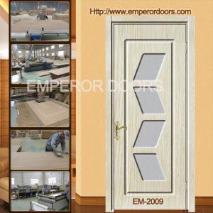 EPS Wooden MDF PVC Doors, Interior Wooden Door