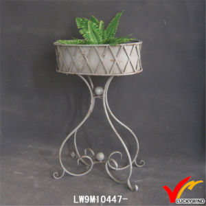 Garden Metal Planter Stand Lw9m10447 pictures & photos