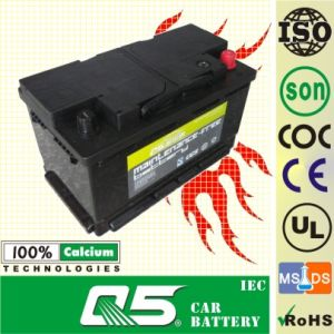 SS75 12V80ah Australla Model Auto Storage Maintenance Free Car Battery pictures & photos