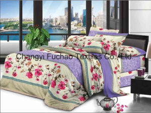 Full Size High Quality Lace Home Textile Bed Sheet pictures & photos