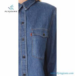 3f837e29110 China Denim Shirt