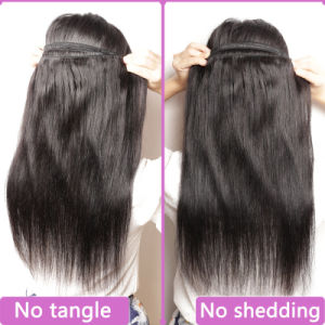 Superior Quality Double Weft Chinese Human Hair Real Hair Extension