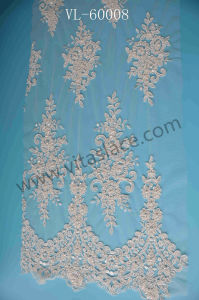 Bridal Lace Fabric for Wedding Dress Vl- 60008bc