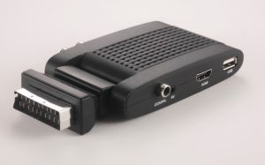 Mini Scart DVB T2 Hevc/H. 265 Digital TV Receiver pictures & photos