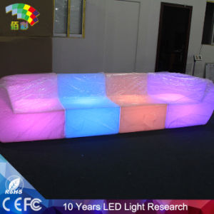 Illuminated Bar Modern Sofa Furniture for Club