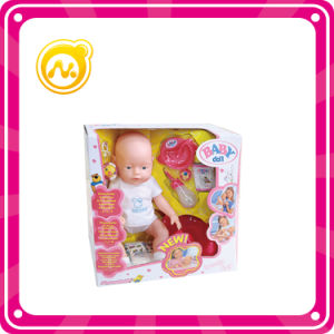16 Inch Child Silicone Doll Baby Doll Toy