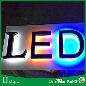 Factory Supply Acrylic LED Lighted Backlit Channel Letter