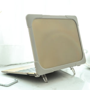 "Matte Clear Plastic+TPU Shockproof Case for MacBook Air 11.6""/PRO 12""/Air 13.3"" pictures & photos"