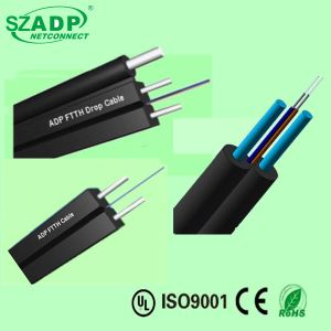 2 Core G567A Fiber Optic Drop Cable LSZH Jacket FTTH High Quality pictures & photos