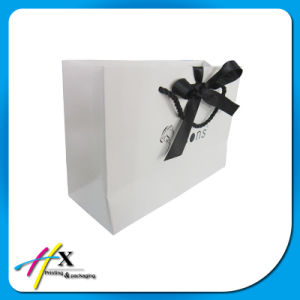White Printing Paper Bag for Clothes pictures & photos