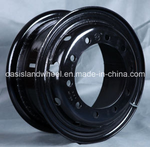 Tube Heavy Duty Steel Wheel Rim (8.50-20 9.00-20) for TBR pictures & photos