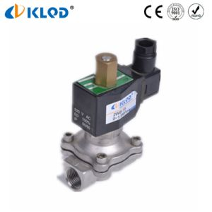 Zero Pressure Normally Open Stainless Steel Solenoid Valve 2wb15-No pictures & photos