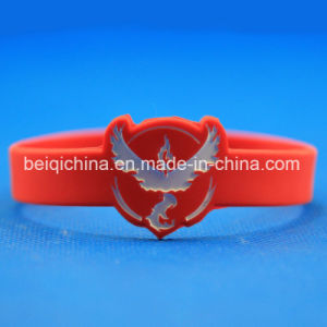 Gift Pokemon Go Team Valor Mystic Instinct Silicone Bracelet Gift Hot pictures & photos