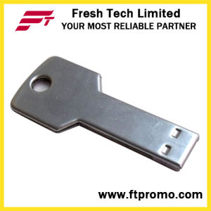 Metal Key USB Flash Drive with Your Logo (D352) pictures & photos