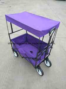 Multipurpose Folding Beach Wagon with Canopy