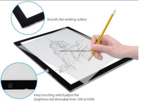 Slim LED Adjustable Tracing Drawing Board Tattoo Light Box pictures & photos
