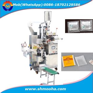 Double Chamber Tea Bag Packing Machine with String and Tag pictures & photos