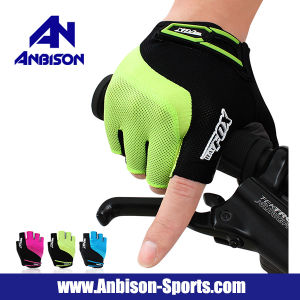 Outdoor Activity Cycling Skating Fitness Fingerless Gloves pictures & photos